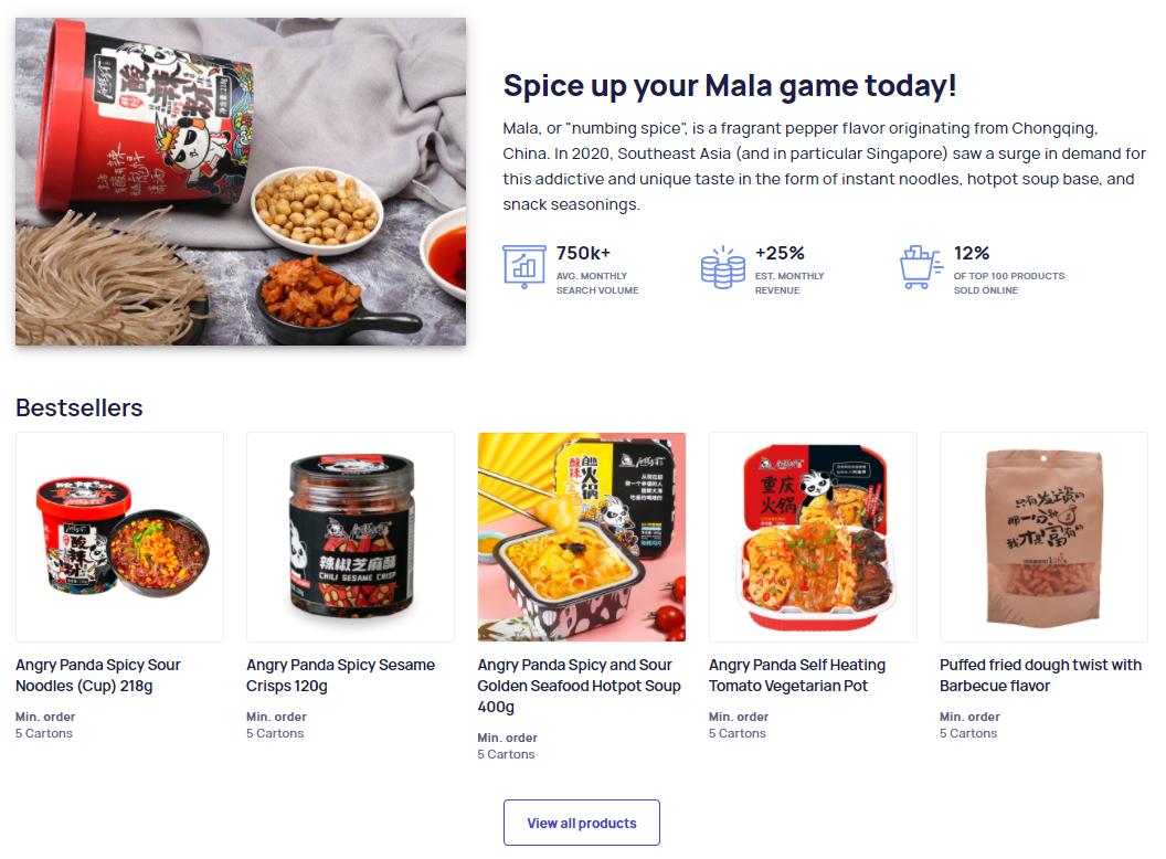 Mala-products-Marketplace-screenshot