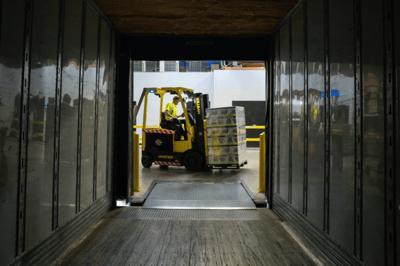 unsplash photo - warehouse